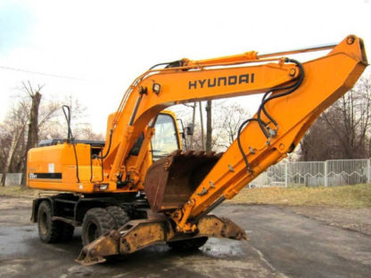 Аренда экскаватора HYUNDAI R-170W