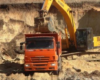 Доставка инертных материалов в Краснодаре