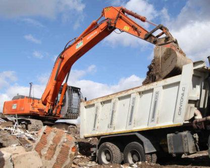 Вывоз строительного мусора в Краснодаре