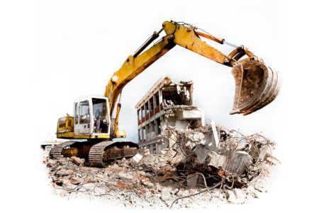 Снос демонтаж зданий и сооружений